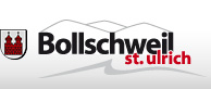 Schriftzug und Logo der Gemeinde Bollschweil