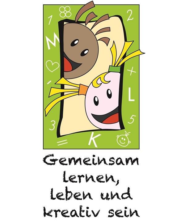 Logo MLK-Schule gemeinsam lernen leben und kreativ sein