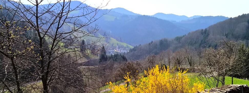 St. Ulrich im Frühling
