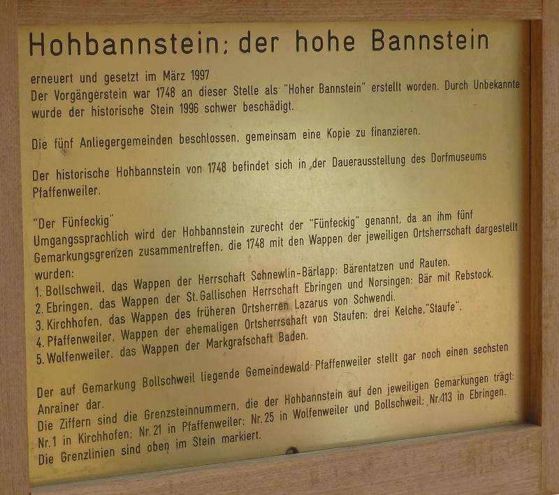 Hohbannstein Beschreibung