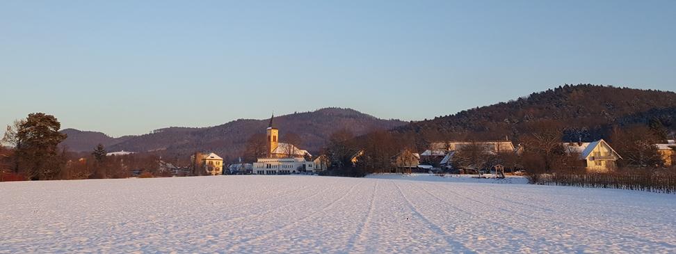 Winter in Bollschweil