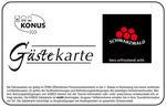 Konus-Gästekarte Logo