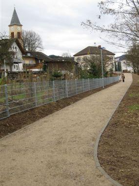 Fußweg Rathaus - Kindergarten