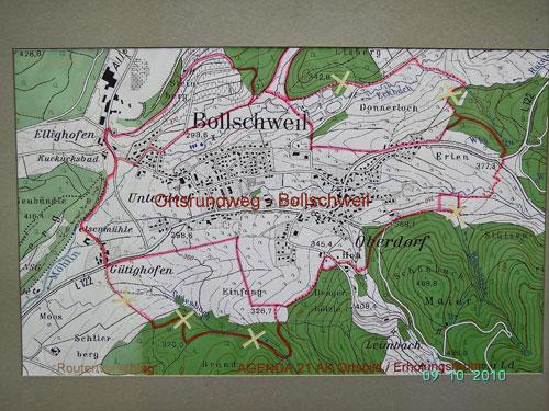 Rund um Bollschweil - Kartenübersicht