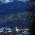Winteransicht von Bollschweil (Postkarte)