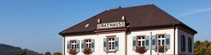 Rathaus der Gemeinde Bollschweil