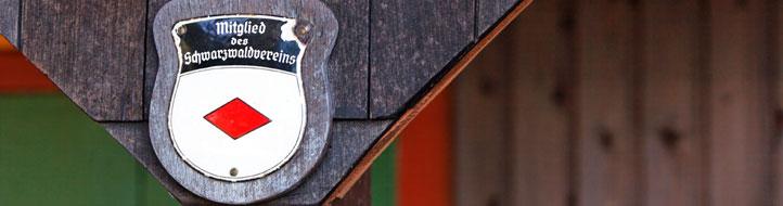 Wappen: Mitglied des Schwarzwaldvereins