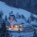 St. Ulricher Kirche im Winter