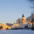Rathaus Kirche Schule