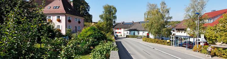 Ortseinfahrt Bollschweil