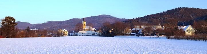 Bollschweil im Winter