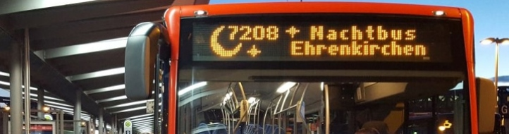 Nachtbus SBG 7208