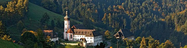 Gesamtansicht vom Kloster St.Ulrich