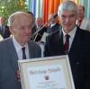 2008 Verleihung des Ehrenbürgerrechts an Ernst Karle