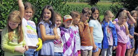 Ferienprogramm Birchiburg, Foto: Meihofer, BZ