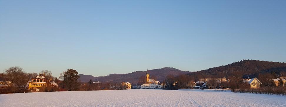 Bollschweil im Winter 2017