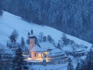 St. Ulrich im Winter