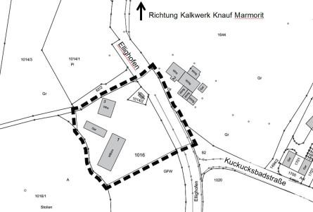Geltungsbereich BP Ellighofen 1. Änderung