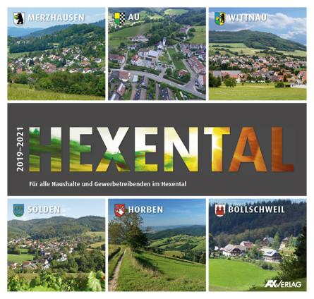 Hexental Broschüre 2019-2021 A+K Verlag Titelseite