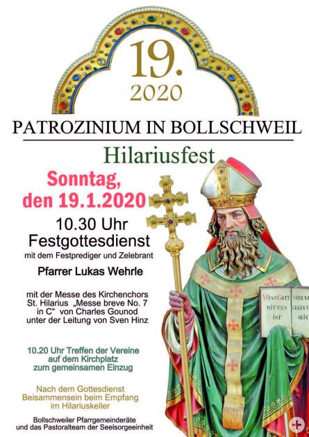 Hilariusfest 2020
