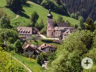 Bildungshaus Kloster St. Ulrich Gesamtansicht