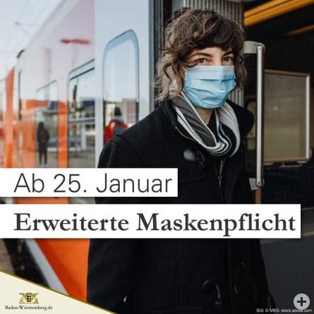 Erweiterte Maskenpflicht ab 25.01.2021-1