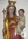 Madonna Sandsteinfigur um 1310