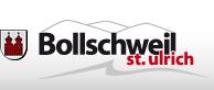 Schriftzug und Logo der Gemeinde Bollschweil